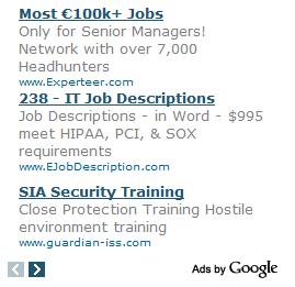 Google AdSense Beispiel