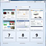 Opera 11 Startbildschirm